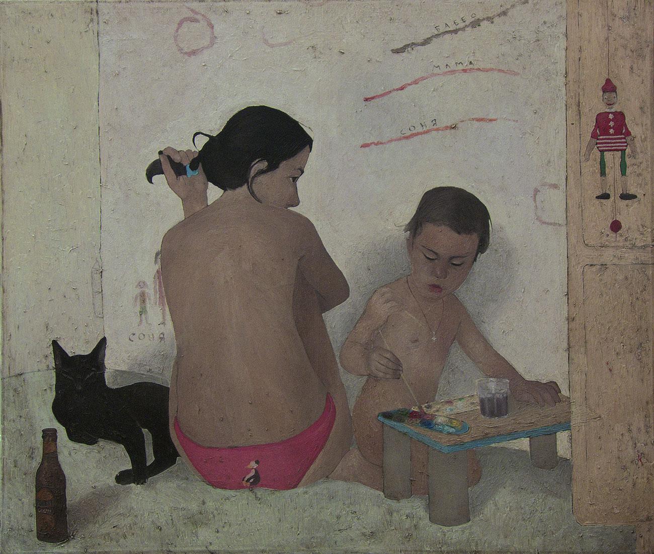 Elia Mauceri - Lezioni di pittura