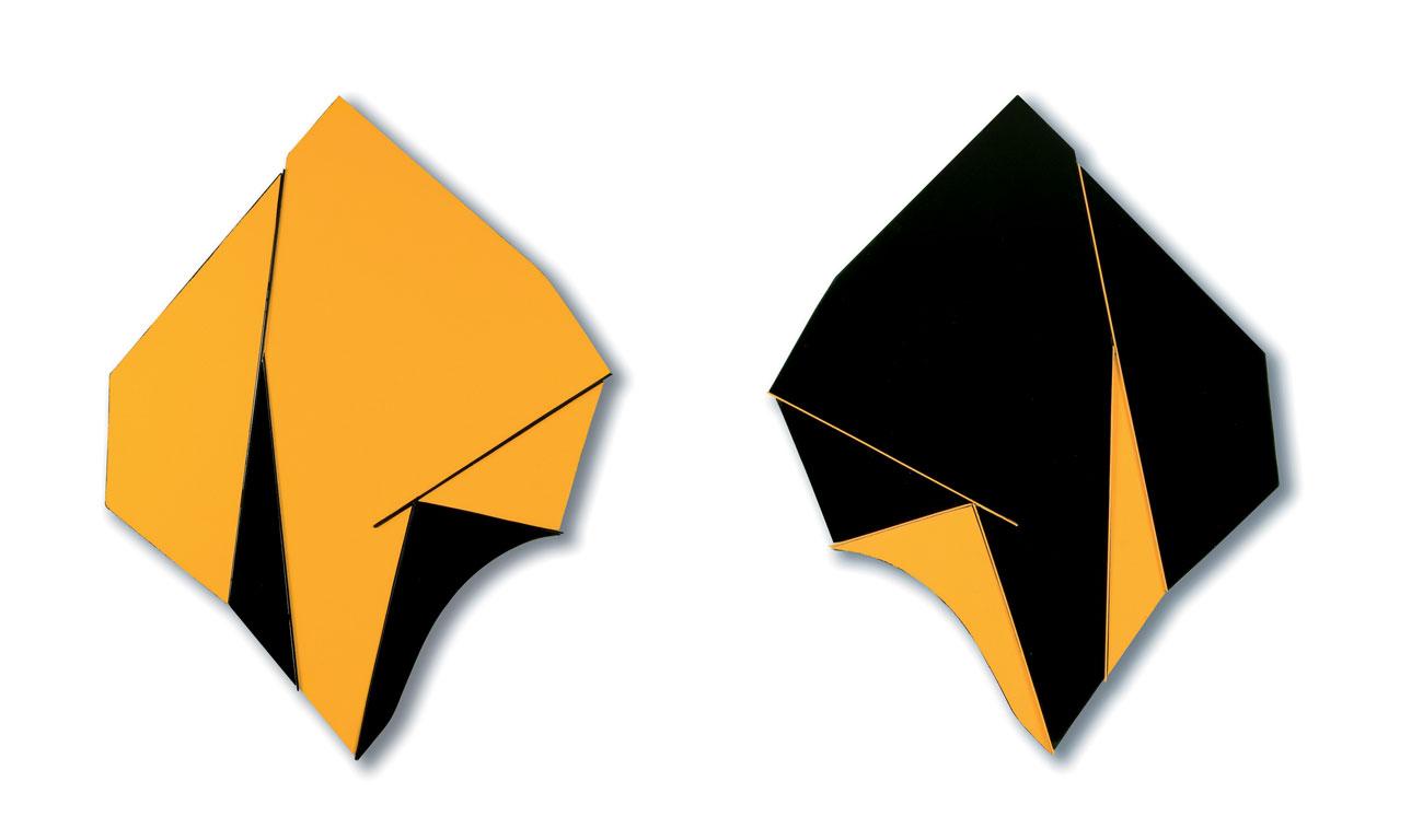 Gianfranco Nicolato - Double face g.n. giallo e nero