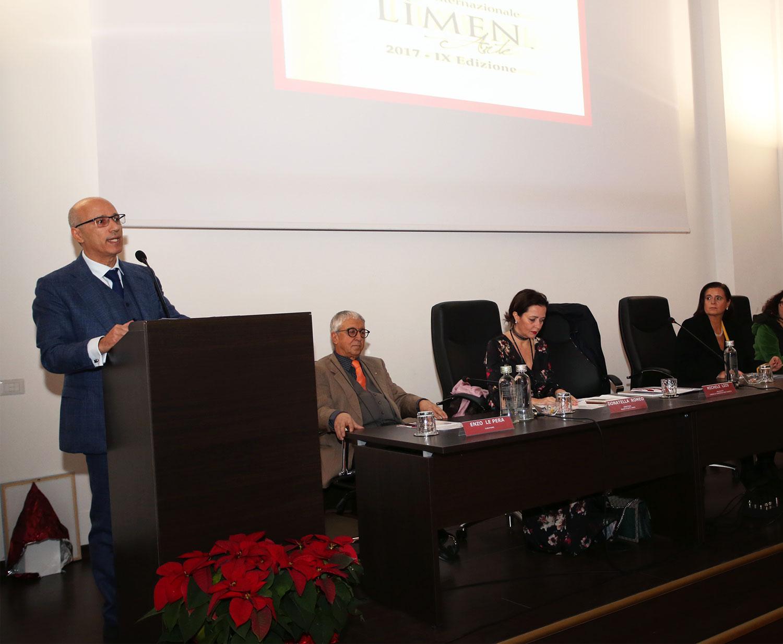 Inaugurata ufficialmente la IX edizione del Premio Internazionale Lìmen Arte della Camera di Commercio di Vibo Valentia